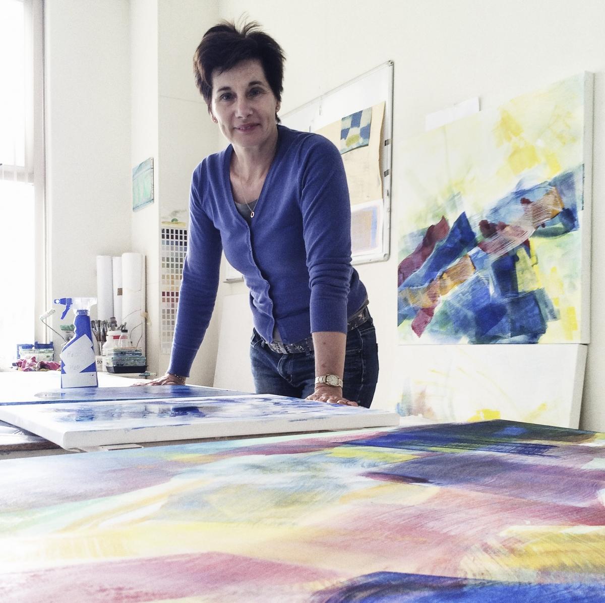 AiR Irene Keyzer - Portretkunst Margo de Wijk