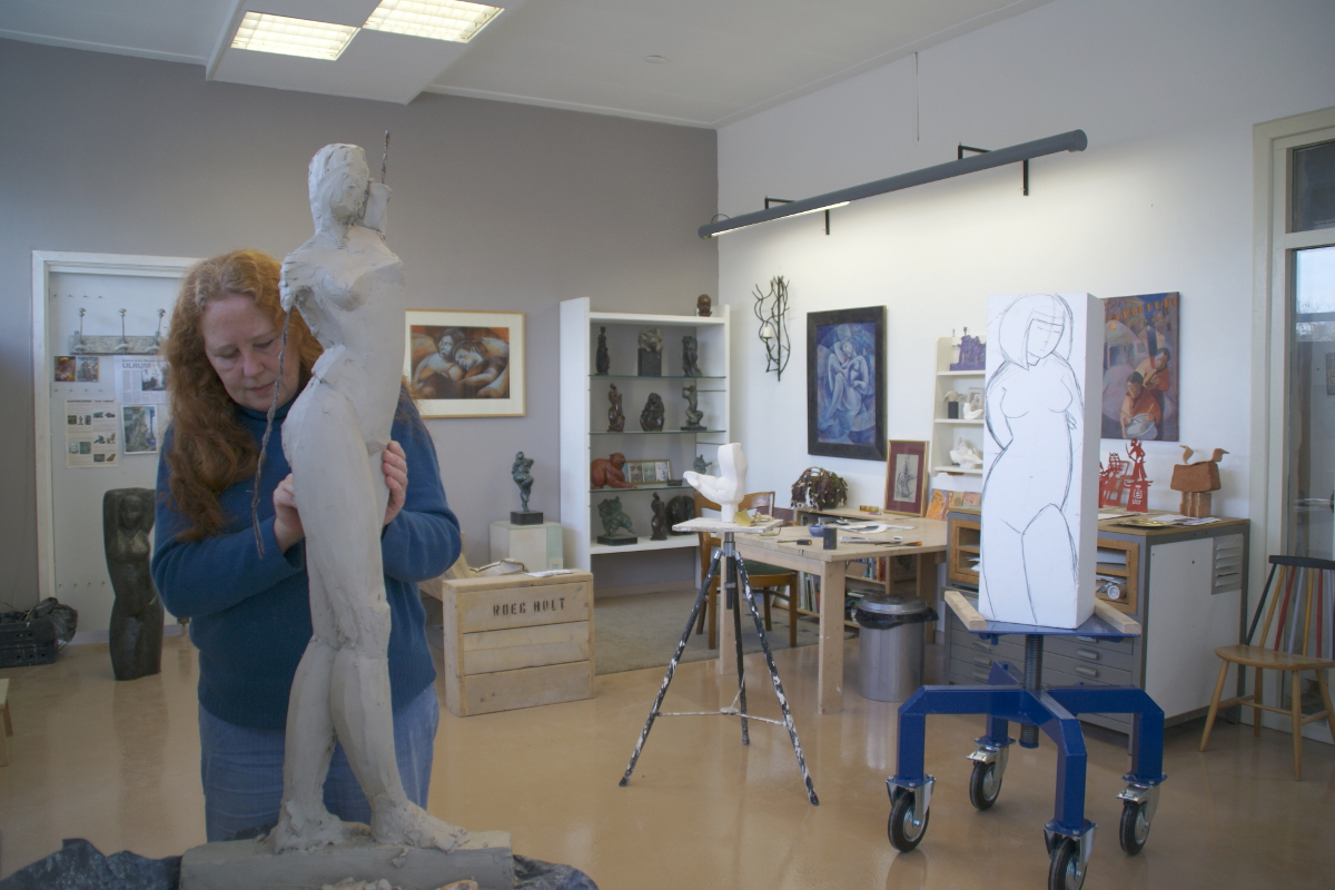 Artist in Residence Margriet Barends