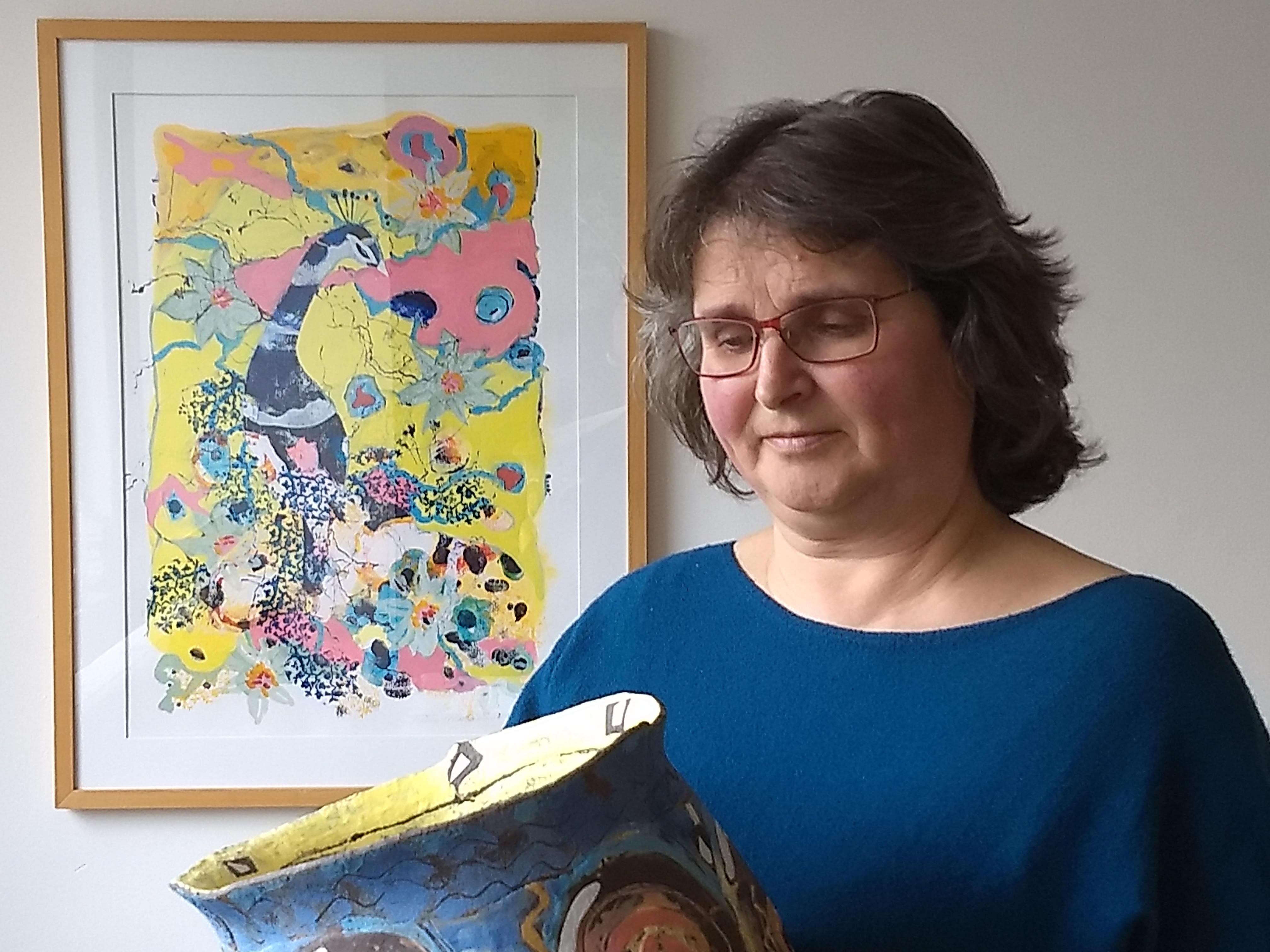 Beeldend kunstenaar Mieke Mostermans