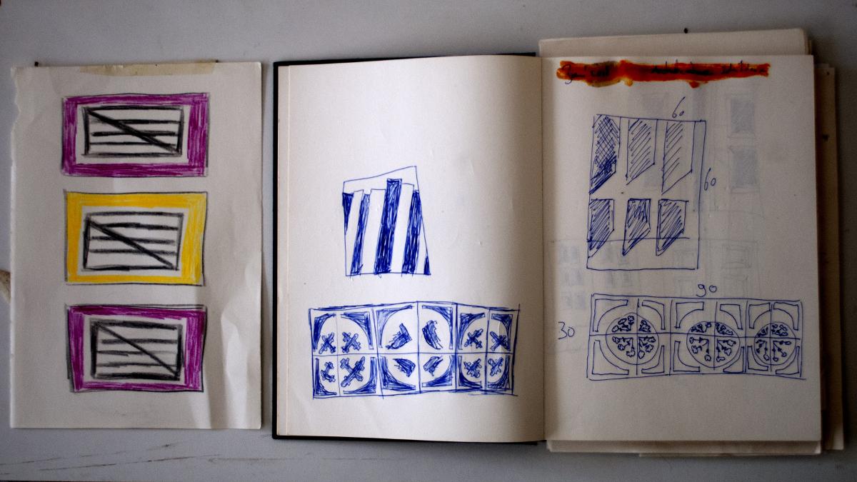 AiR-Leslie-Kamps-kunstenaar-schetsen