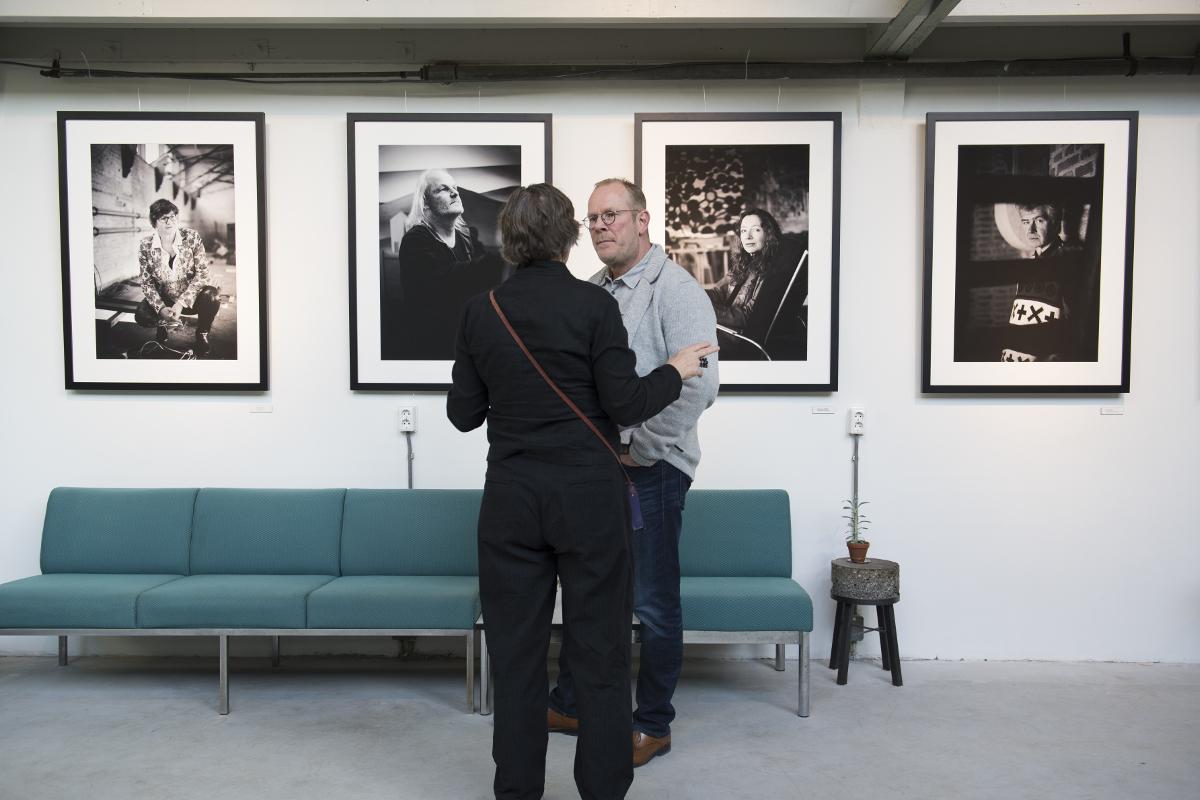 Fotograaf Charles Dumas Artist in Residence Werk aan het Spoel